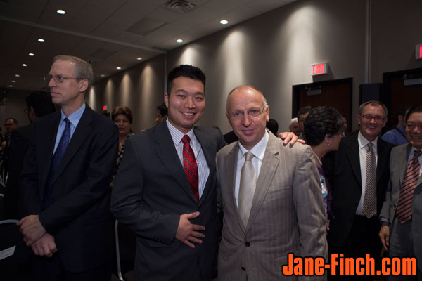 Paul Nguyen with Ukrainian Ambassador, Ihor Ostash