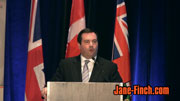 Hon. Jason Kenney at the 2010 Paul Yuzyk Award ceremony