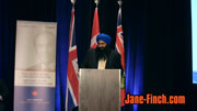 MP Tim Uppal at the 2010 Paul Yuzyk Award ceremony