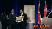 Paul Nguyen receives Paul Yuzyk Award from Hon. Jason Kenney