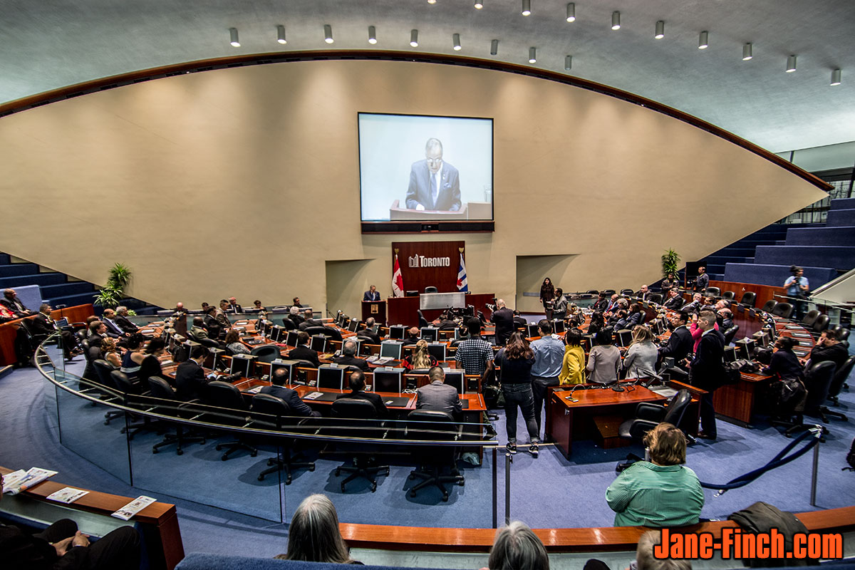 The National Ethnic Press and Media Council of Canada awards at Toronto City Hall Council Chambers